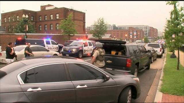No Shots Fired At Navy Yard In Washington D.C., Official Says