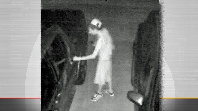 Sand Springs Police Want To Identify Car Burglar