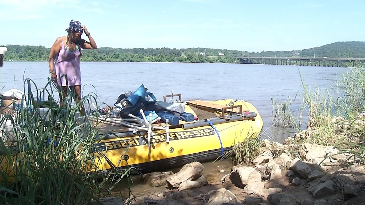 Arkansas River Rafters Back On The Water After Tulsa Rescue