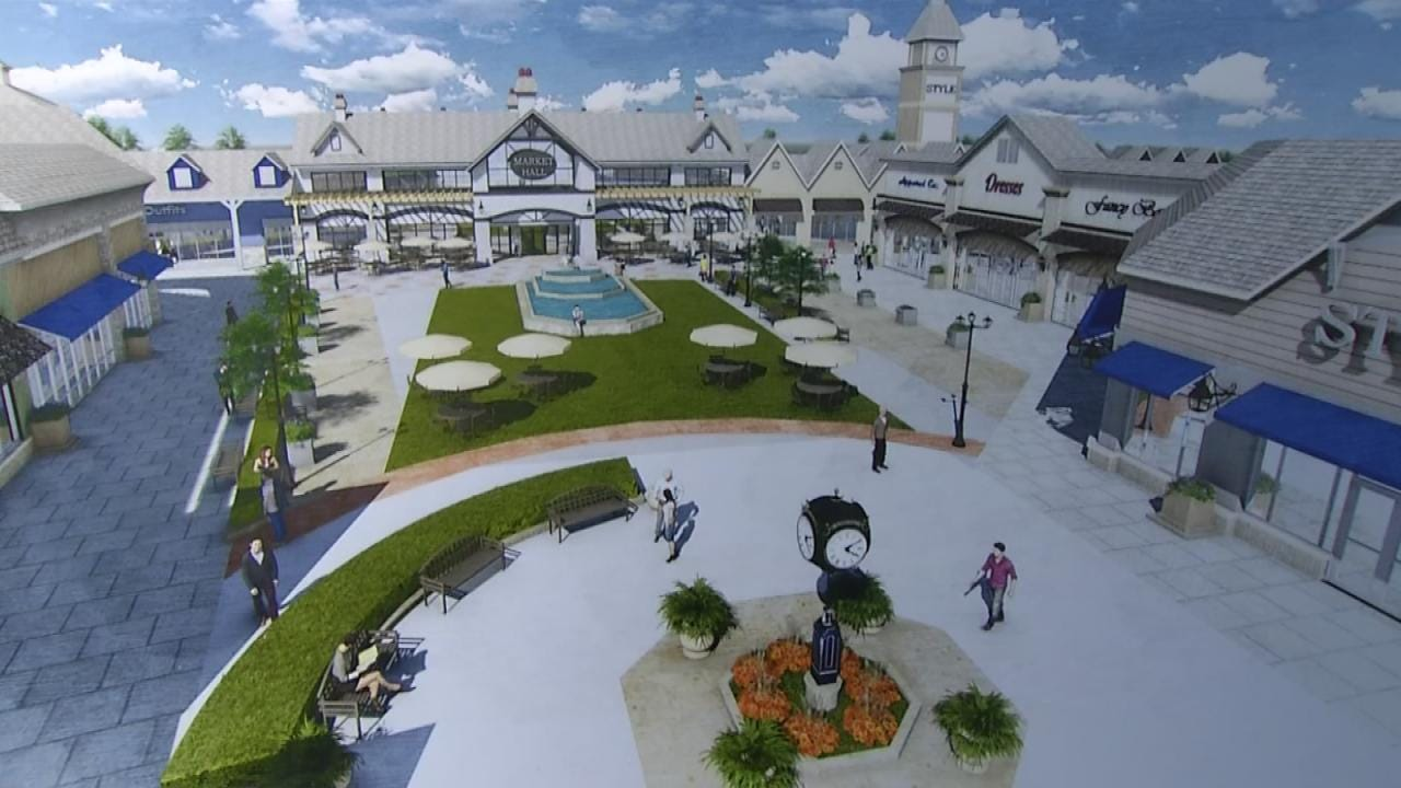 Plan For Proposed Outlet Mall Near Turkey Mountain Pulled