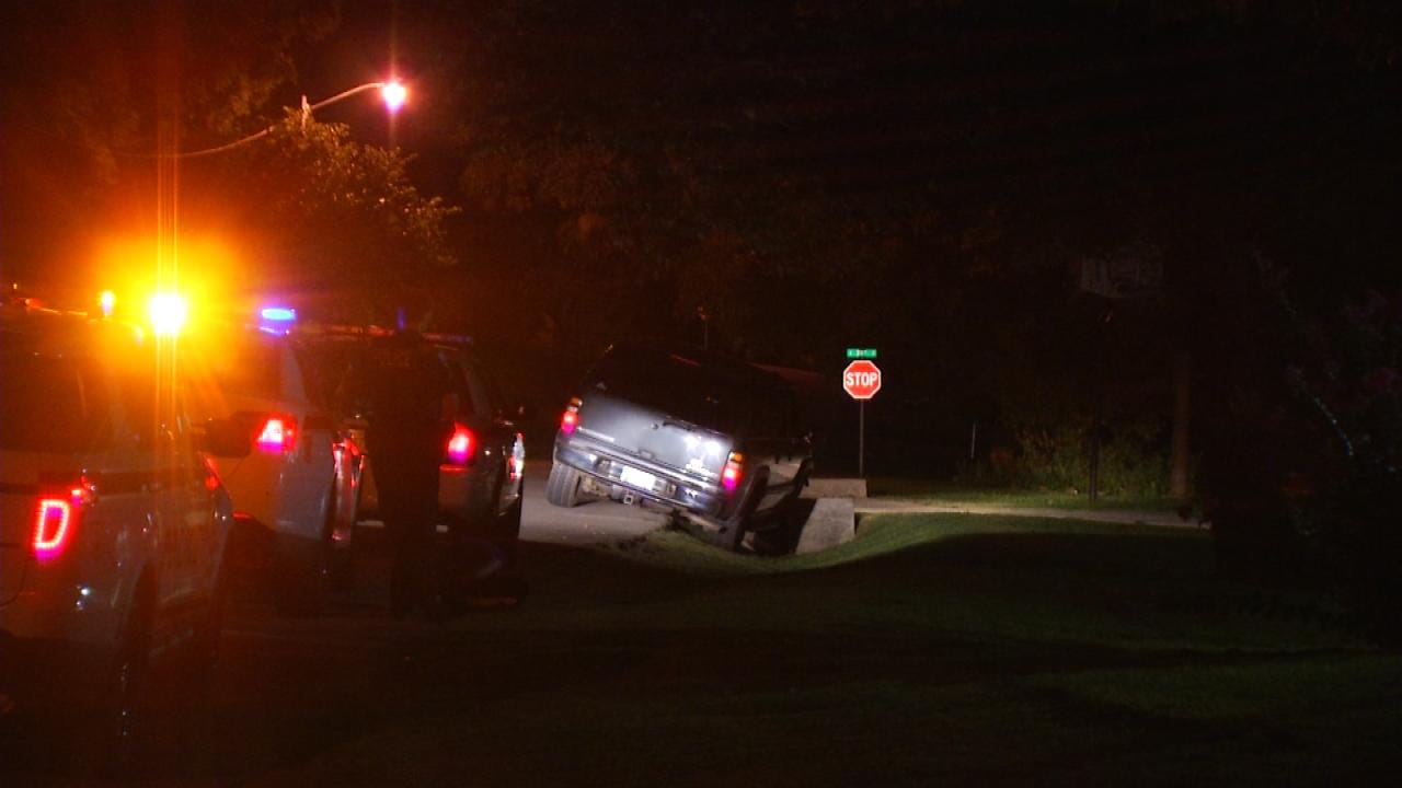 Stolen SUV Recovered In West Tulsa, Driver Still Sought