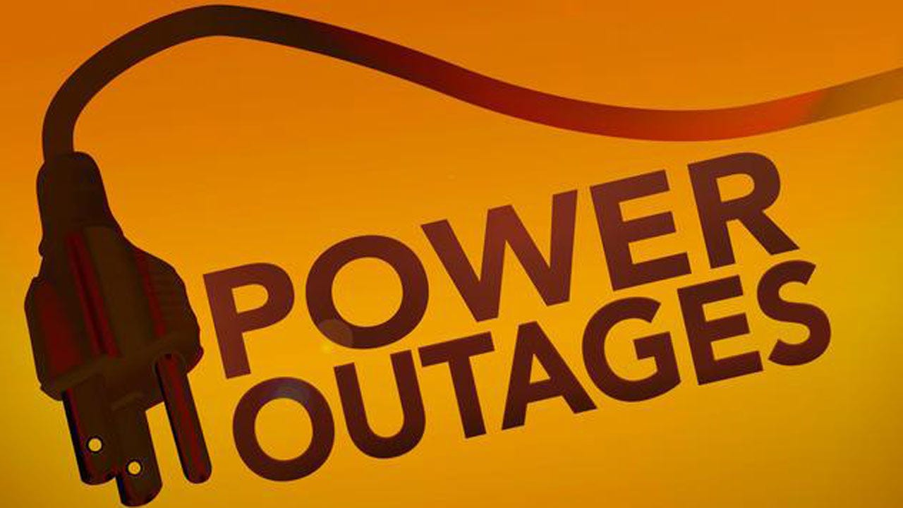 Power Outages Reported In Glenpool, Okmulgee County