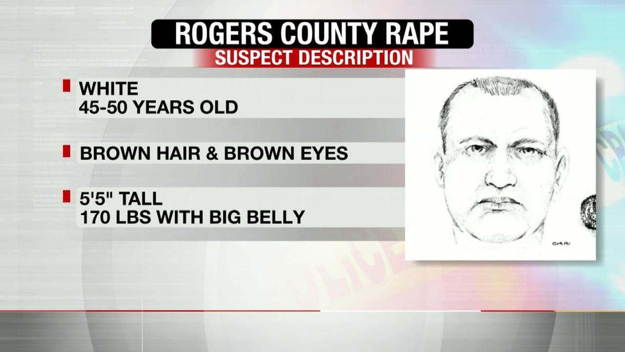 Rogers County Sheriff's Office Searching For Rape Suspect