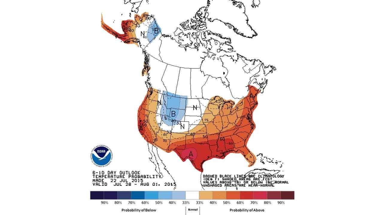 Dick Faurot's Weather Blog: Heat Returns