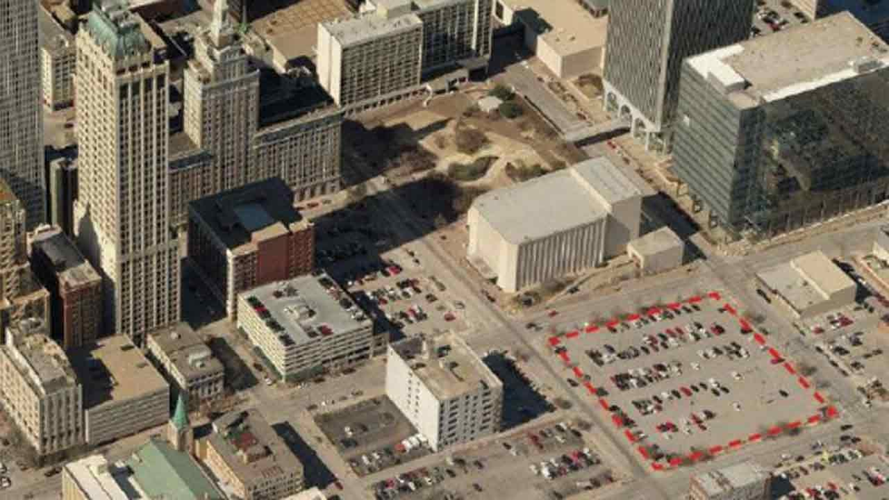 Downtown Tulsa Parking Lot Looking For Developers