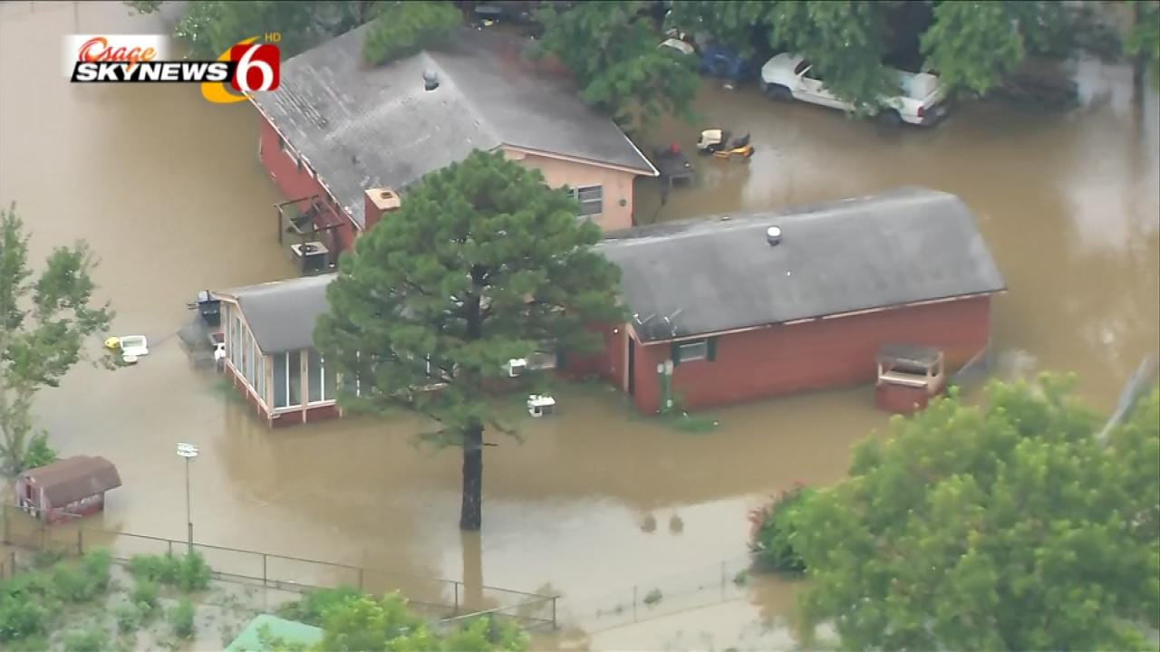 Flooding Soaks Okmulgee And Muskogee Counties