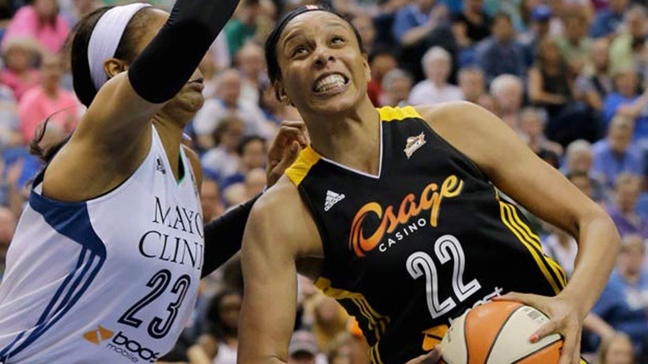 Tulsa Shock: Plenette Pierson Named To 2015 WNBA All-Star Team