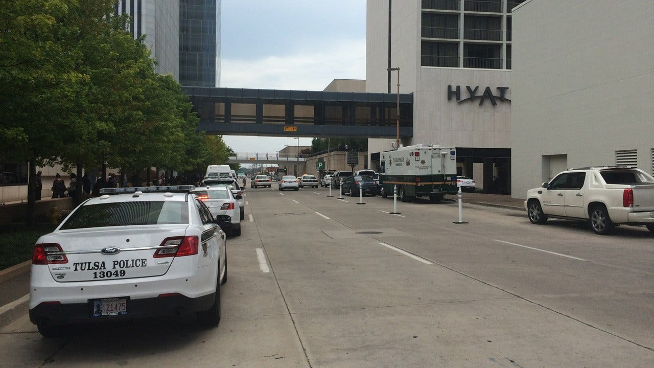 Bomb Threat Forces Evacuation Of Downtown Tulsa Hotel