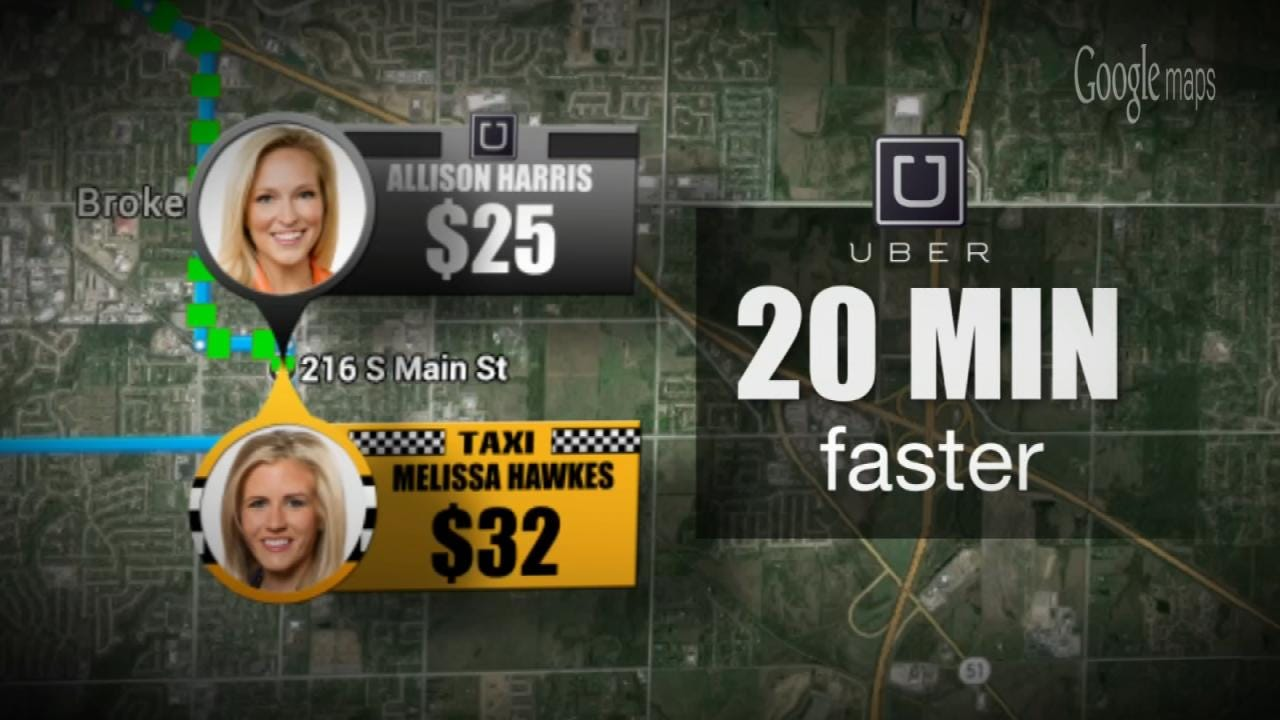Uber Or Taxi, What's The Quickest And Cheapest Way To Get Around Tulsa?