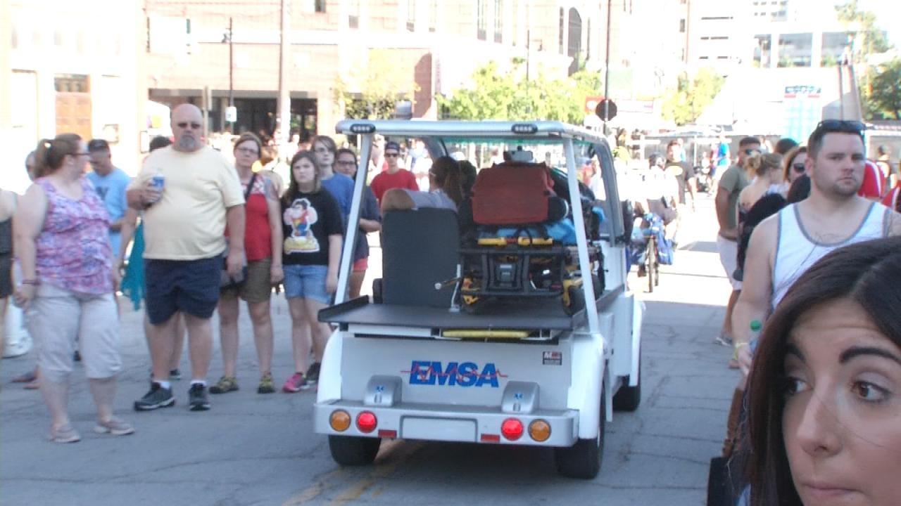 EMSA Keeping Close Eye As Heat Beats Down On Tulsa's Center Of The Universe Festival
