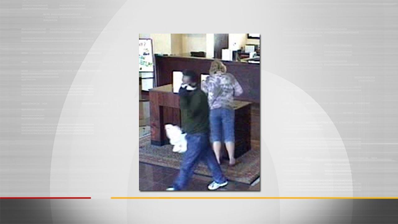 Masked Man Robs South Tulsa Bank