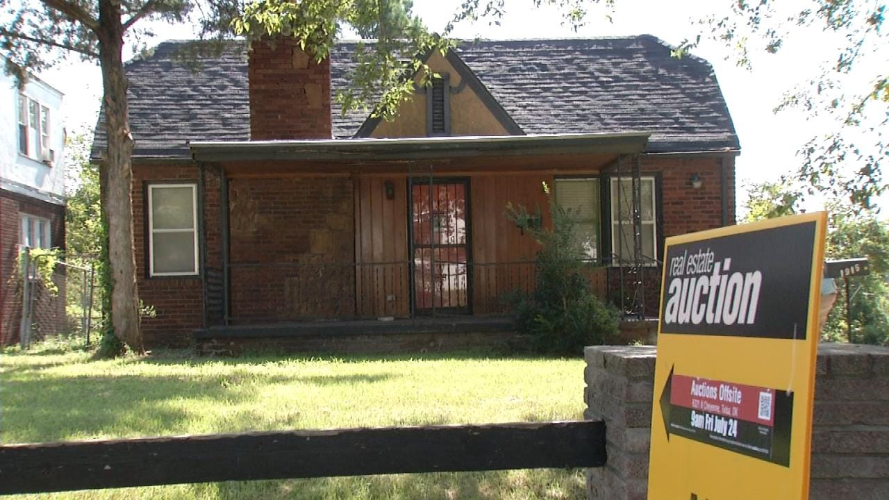 Property Auction Ends In Good Deals For Tulsa Buyers