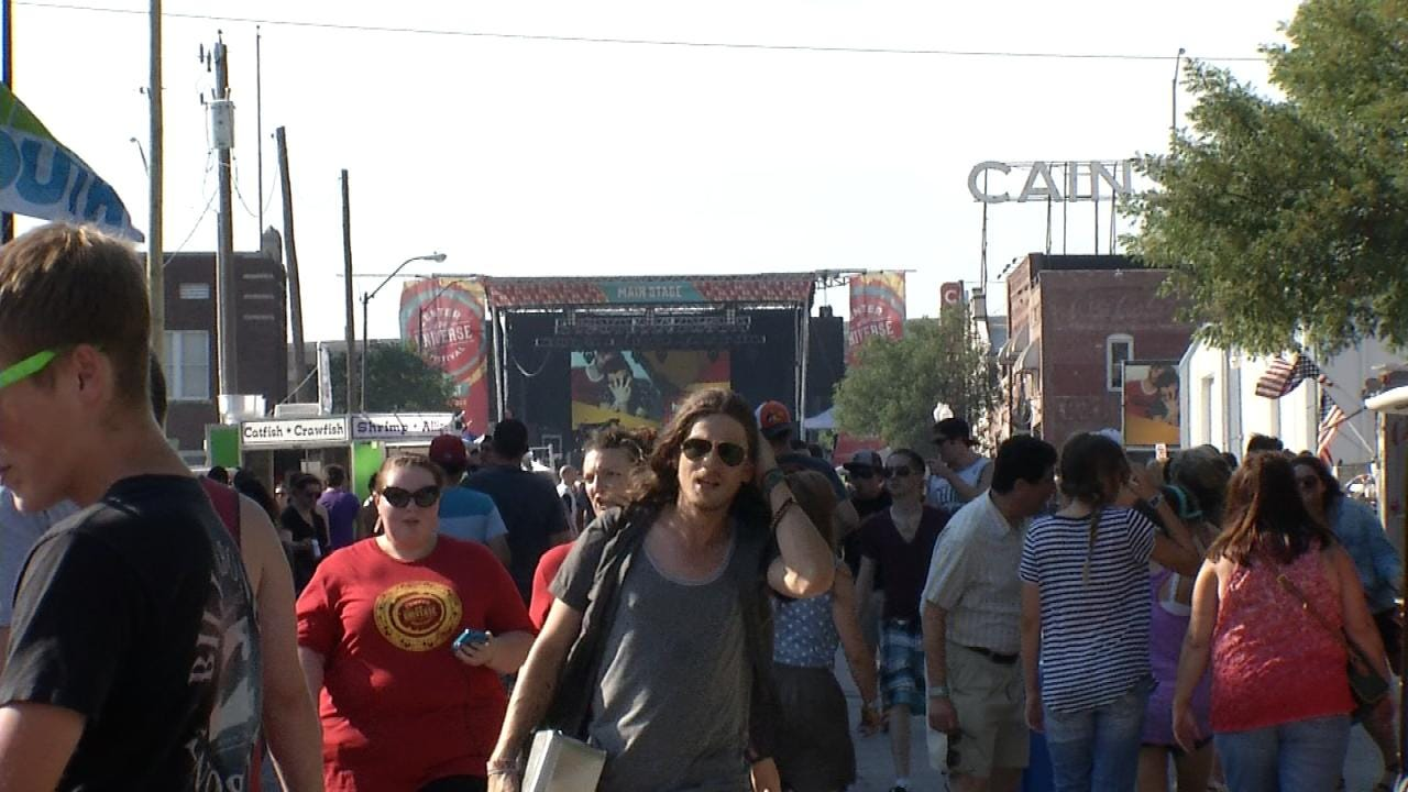 Thousands Expected for Tulsa's Center Of The Universe Festival