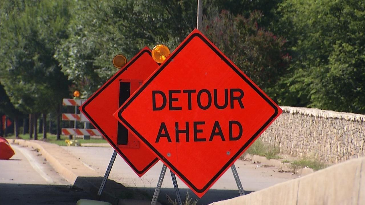 Brookside Traffic Ramping Up With Tulsa Riverside Construction