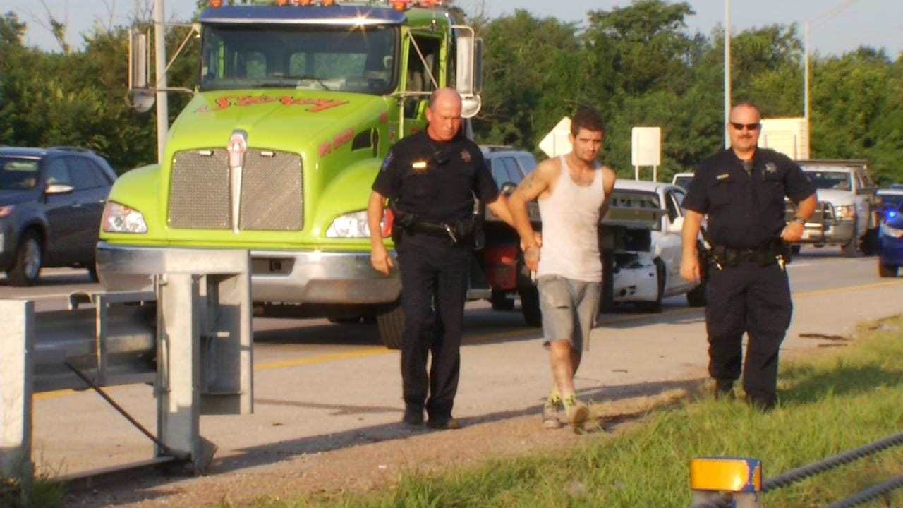 'Crazy' Driving Leads To Wreck, Arrests On Sand Springs Expressway