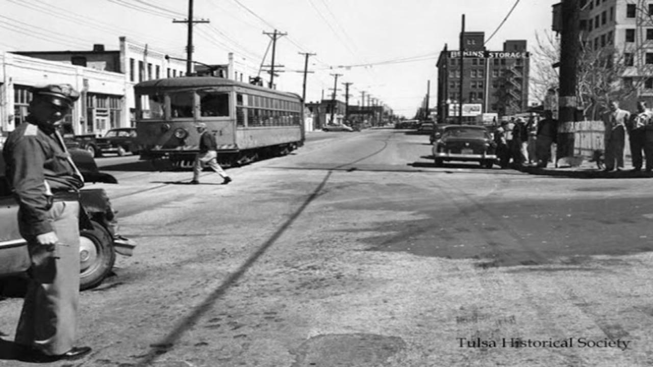 Men Working To Restore, Display Historic Tulsa Trolleys