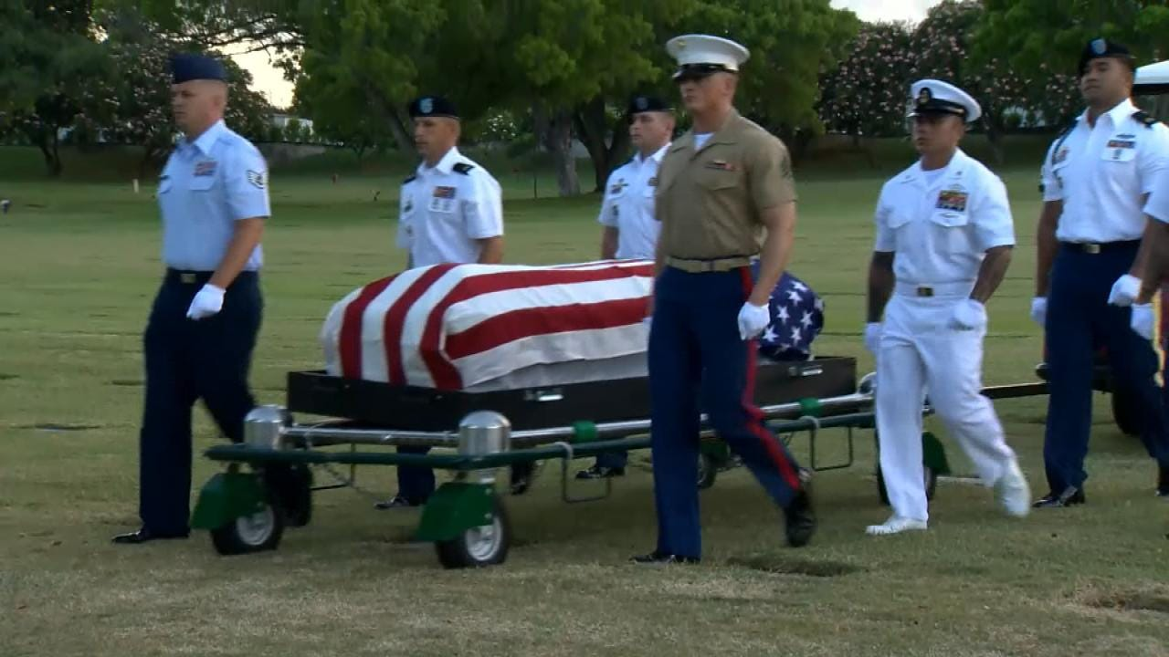 US Military Exhumes Unidentified Remains From USS Oklahoma