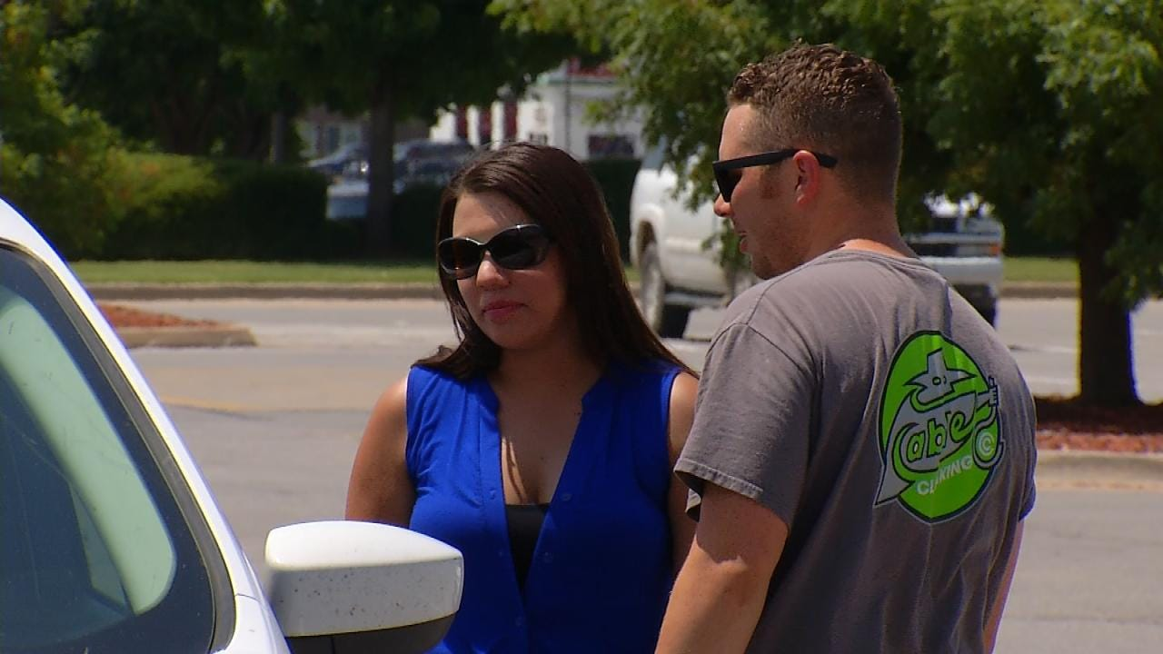 Couple Rescues Baby Left Inside Car At Owasso Walmart