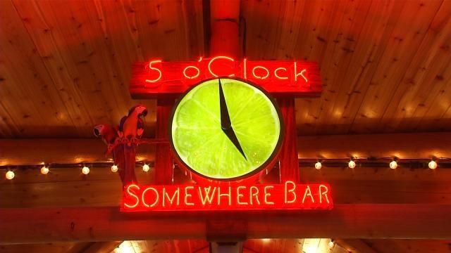 Margaritaville's 5 O'Clock Somewhere Bar Opens At River Spirit