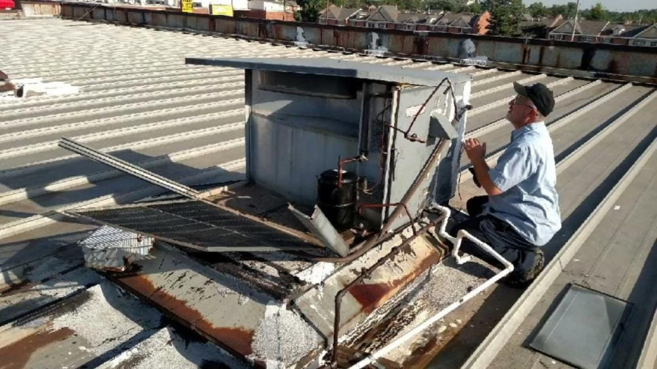 Businesses Lose Cool, Customers After Thieves Steal Copper From AC Units