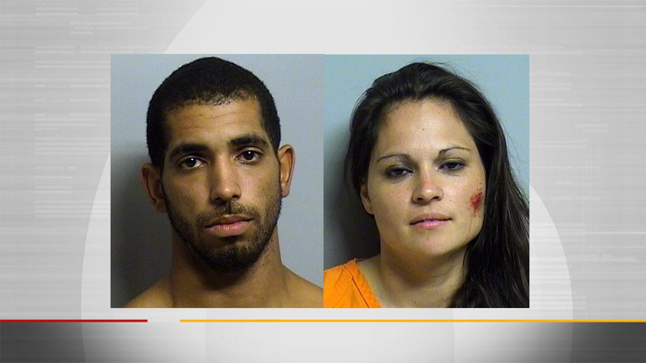 Chase Of Stolen Car Leads To Two Arrests, Tulsa Police Say