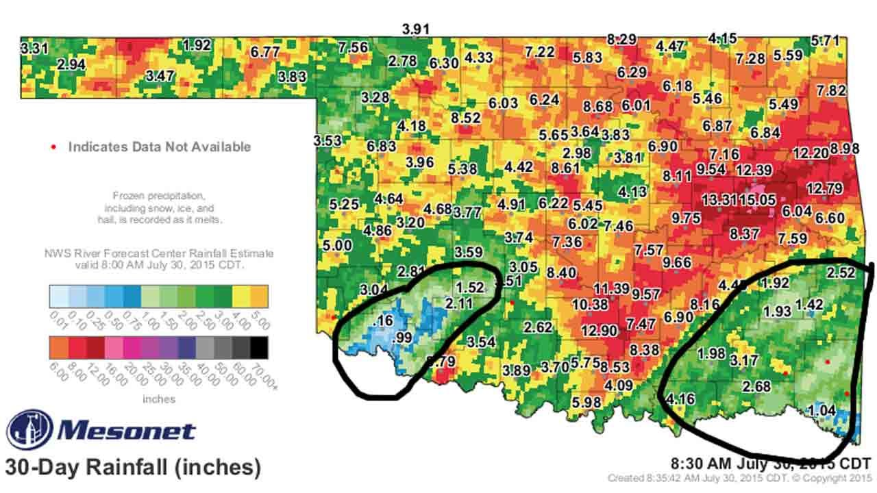 Dick Faurot's Weather Blog: Not As Hot, Slight Chance Of Storms