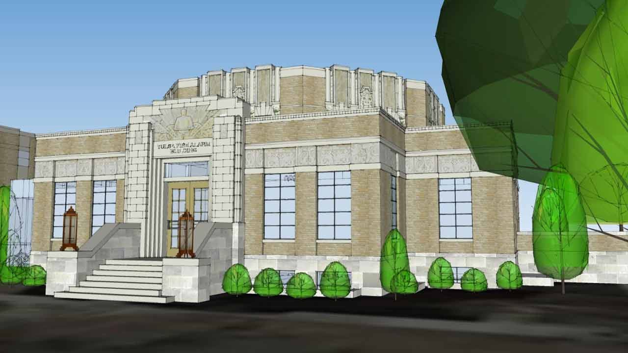 Fire Alarm Building To House First Tulsa Firefighters Museum