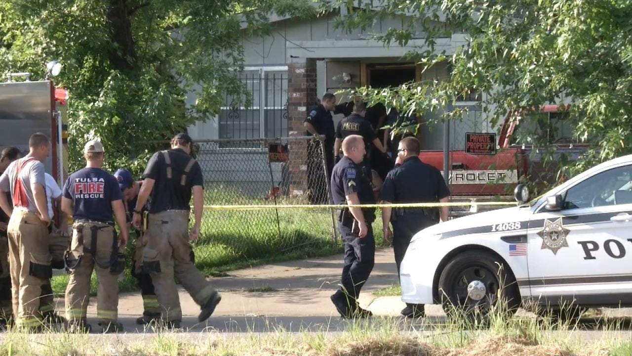 Man Wounded In Shooting At Tulsa Home