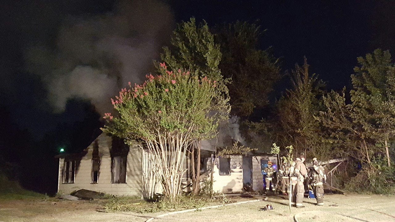 Vacant Sapulpa Home Destroyed By Fire