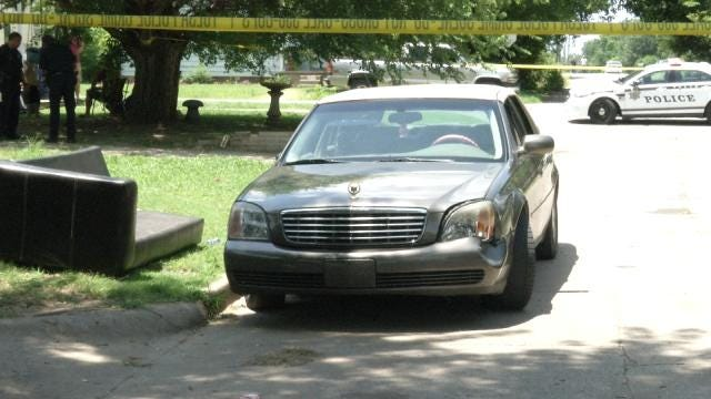 Police Look For Suspect In North Tulsa Shooting
