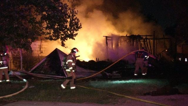 Three House Fires Break Out In Tulsa