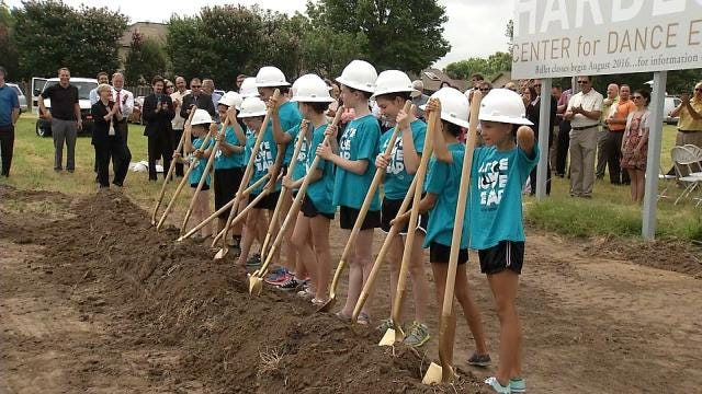 Dancers Trade Slippers For Hard Hats At Tulsa Ballet Groundbreaking