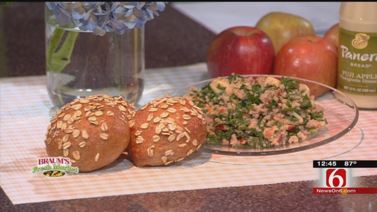 Fuji Apple, Kale & Quinoa Salad