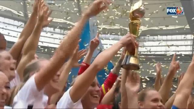 U.S. Women's Soccer Team Defeats Japan In World Cup Final 5-2