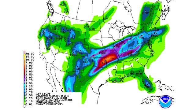 Dick Faurot's Weather Blog: Flooding Concerns Tonight Into Wednesday