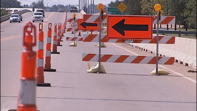 I-244 To Highway 75 Ramps To Close In Downtown Tulsa
