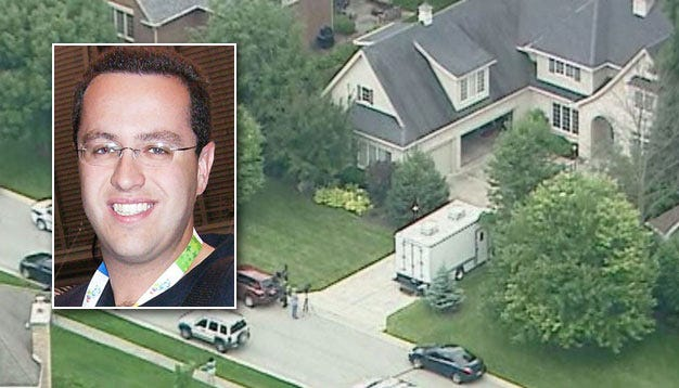Police Search Home Of Subway Spokesman Jared Fogle