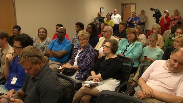 Public Expresses Opinions Over Tulsa County Sheriff's Office