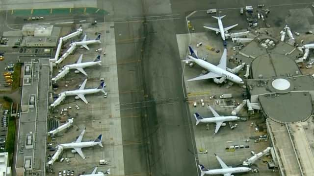 Computer Glitch Grounds United Airlines Flights