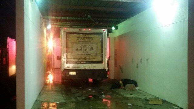 Truck Runs Over Two People Sleeping In Tulsa Car Wash