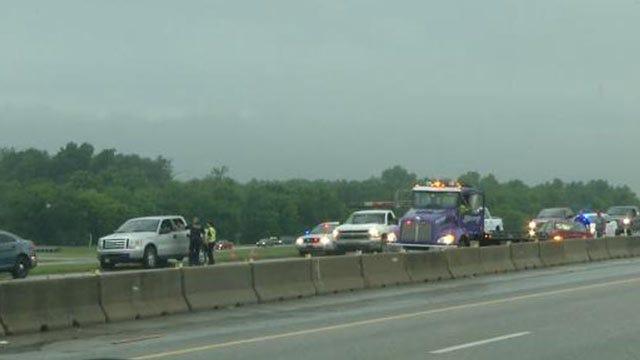 Crash Backs Up Rush-Hour Traffic On Highway 169 Near Owasso
