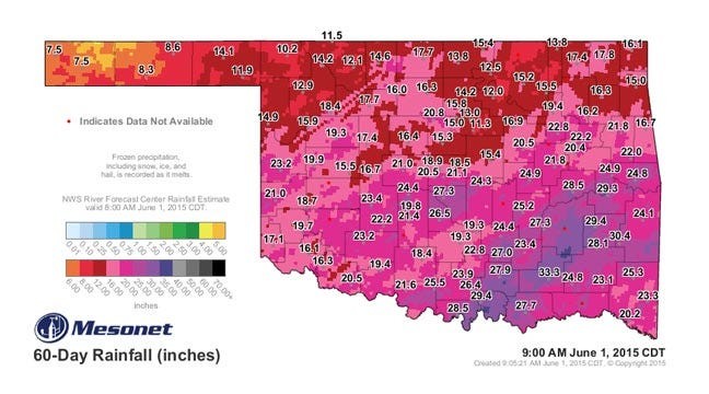 Dick Faurot's Weather Blog: A Record-Setting May