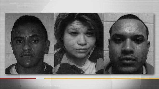 Three Involved In Oklahoma Police Chase Face Charges In Kansas