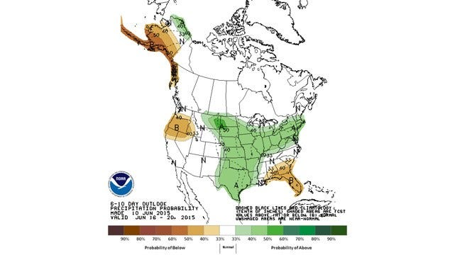 Dick Faurot's Weather Blog: Hottest Day So Far, Changes On The Way