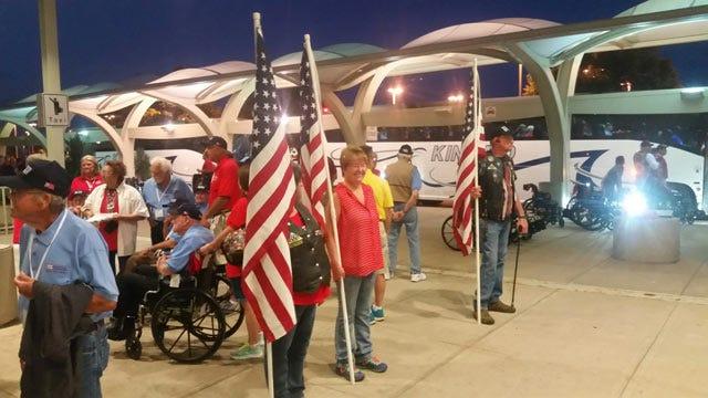 Honor Flight Takes Oklahoma Veterans To Washington, DC