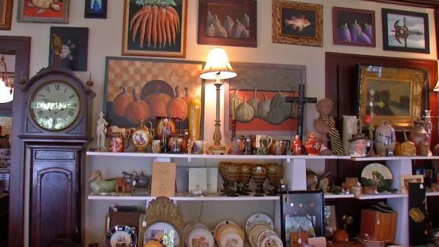 Tulsa Architect Selling Interesting Collections
