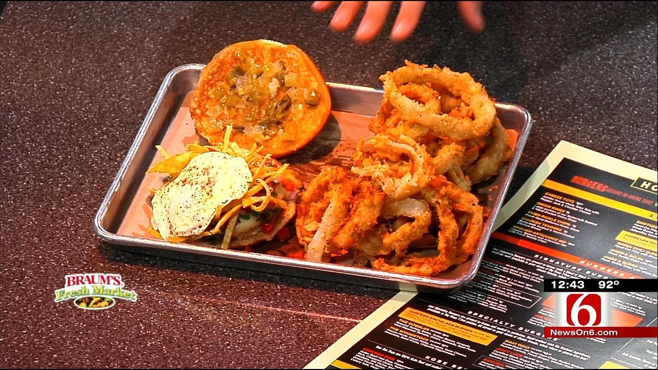 Chicken Enchilada Burger
