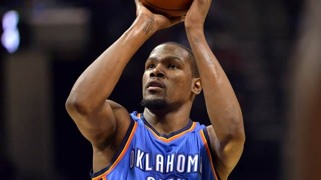 Kevin Durant To Be Inducted Into Oklahoma Hall Of Fame