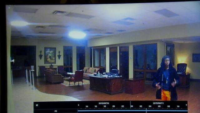 Caught On Video: Man Breaks Into Tulsa Bank