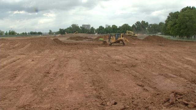 Crews Begin Transforming Landscape At Tulsa's Gathering Place